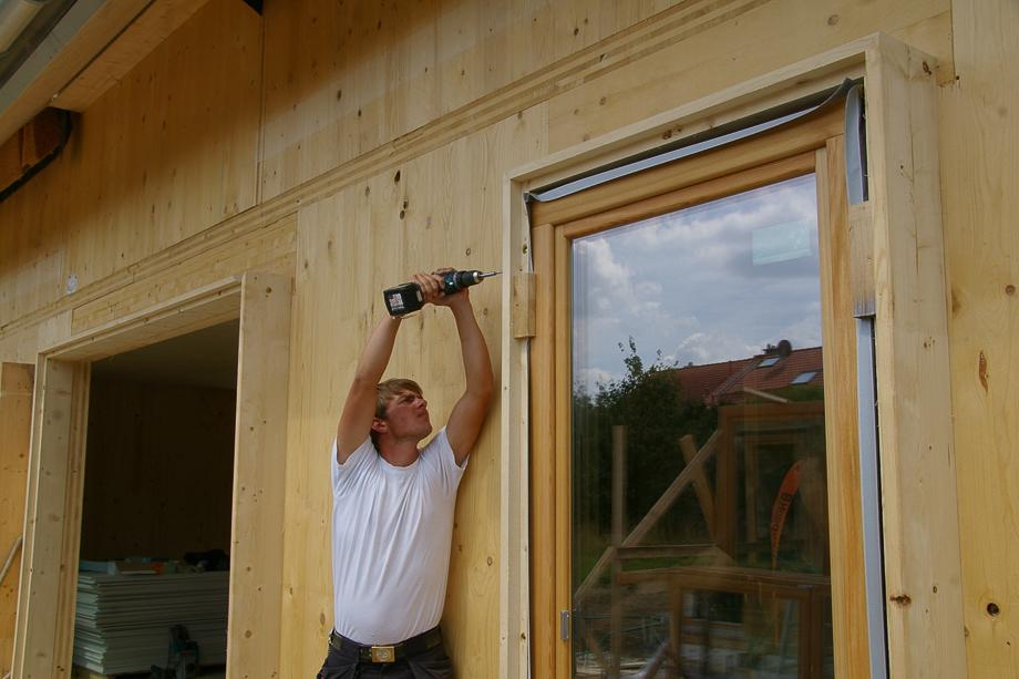 Fenstermontage nach RAL