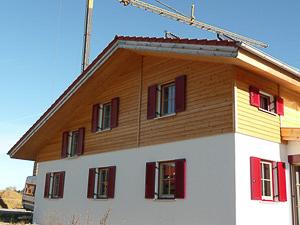 Fertigerstelltes Holzhaus